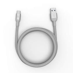 Adam Elements Casa M100+ USB 3.1 (USB-C to USB-A Cable) - Silver