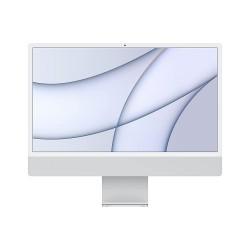 Apple iMac with M1 chip 24-inch 8‑core CPU and 8‑core GPU (256GB - Silver)