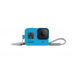 GoPro Sleeve + Lanyard Hero 8 Black (Blue)