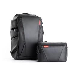 Pgytech OneMo Backpack 25L + Shoulder Bag - Twilight Black